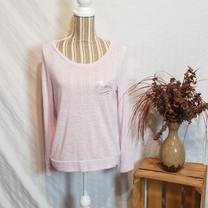 Victoria's Secret Pink Bombshell Print Long Sleeve